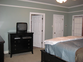 Painted Ceiling Sherwin Williams Sea Salt Walls Oyster Bay Baseboards Antique White