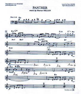 Saul Bass Transcriptions: My favorite Bass Lines