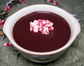 Chocolate-Peppermint Pudding