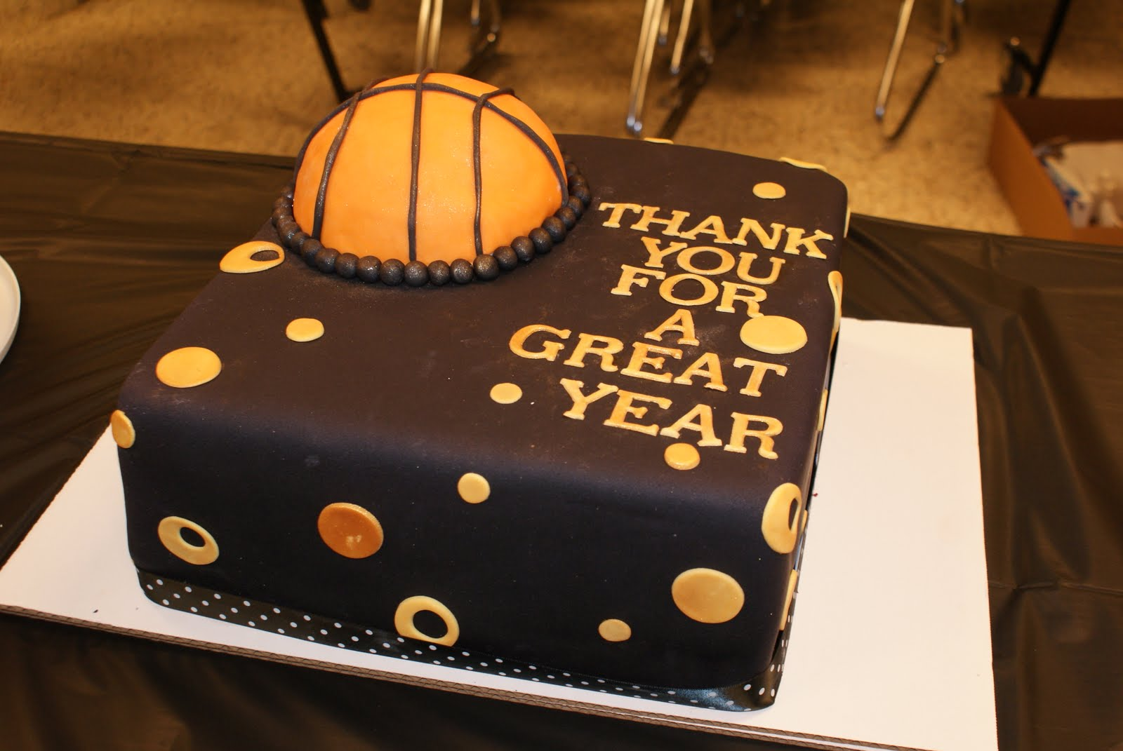 Custom Cakery Washington High School Girls Basketball Banquet