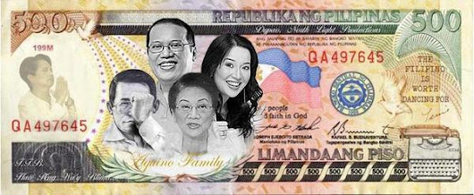 Overcoming Absurdity . . .: New 500 Peso Bill