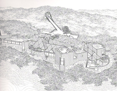 My Architectural Moleskine 174 I M Pei Miho Museum Japan