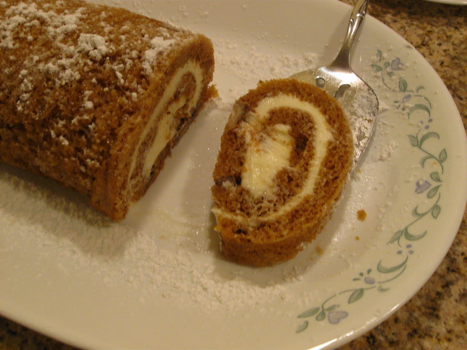 Carrot Cake Recipe Jelly Roll Pan: Cattapan's Cookies & Cakes: Pumpkin Cake Roll