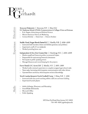 Font For Resume Header. Good Words For Skills Resume Good Resume