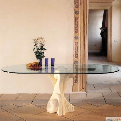 arredaclick italienisches designm bel blog design runde glastische der weltraum in unserem. Black Bedroom Furniture Sets. Home Design Ideas