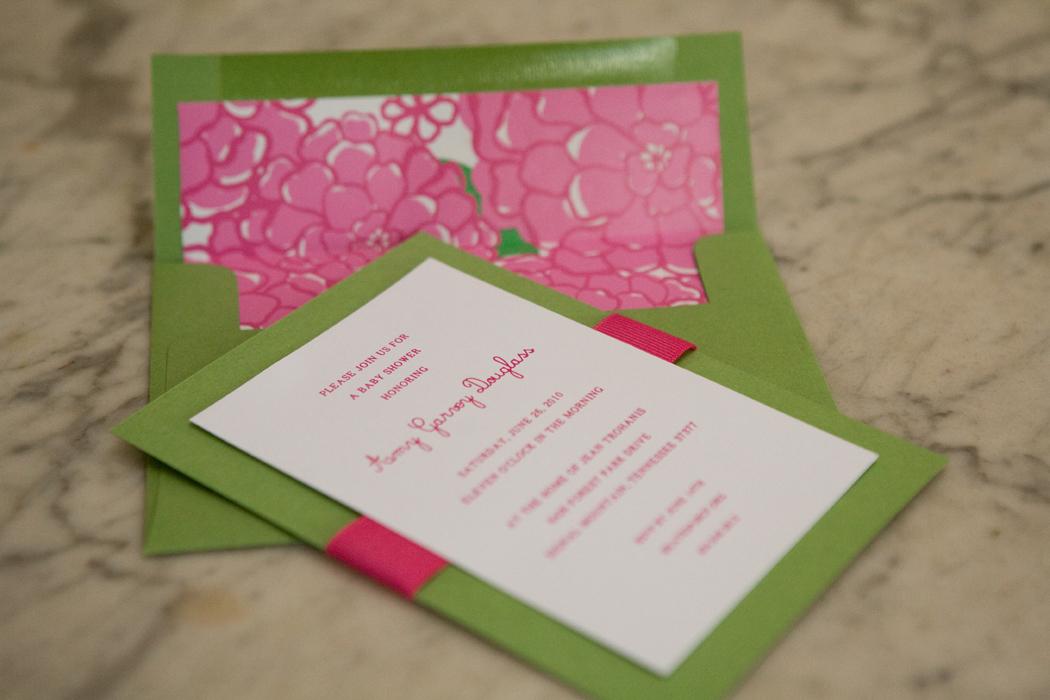 party invitations Calliespondence
