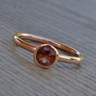 rose gold sunstone