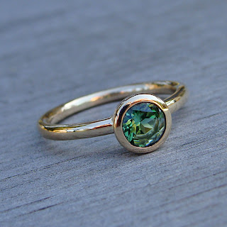 tormaline engagement ring