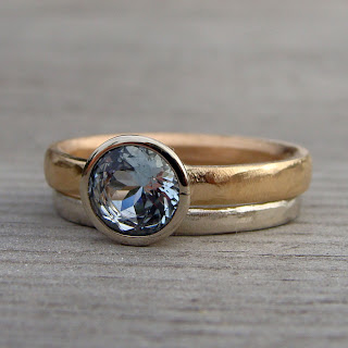 ethical aquamarine ring