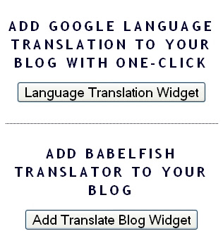 Add Language Translation Flags With Mouse Clicks  ~ The Blog Doctor