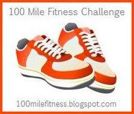 100 Mile Fitness Challenge logo