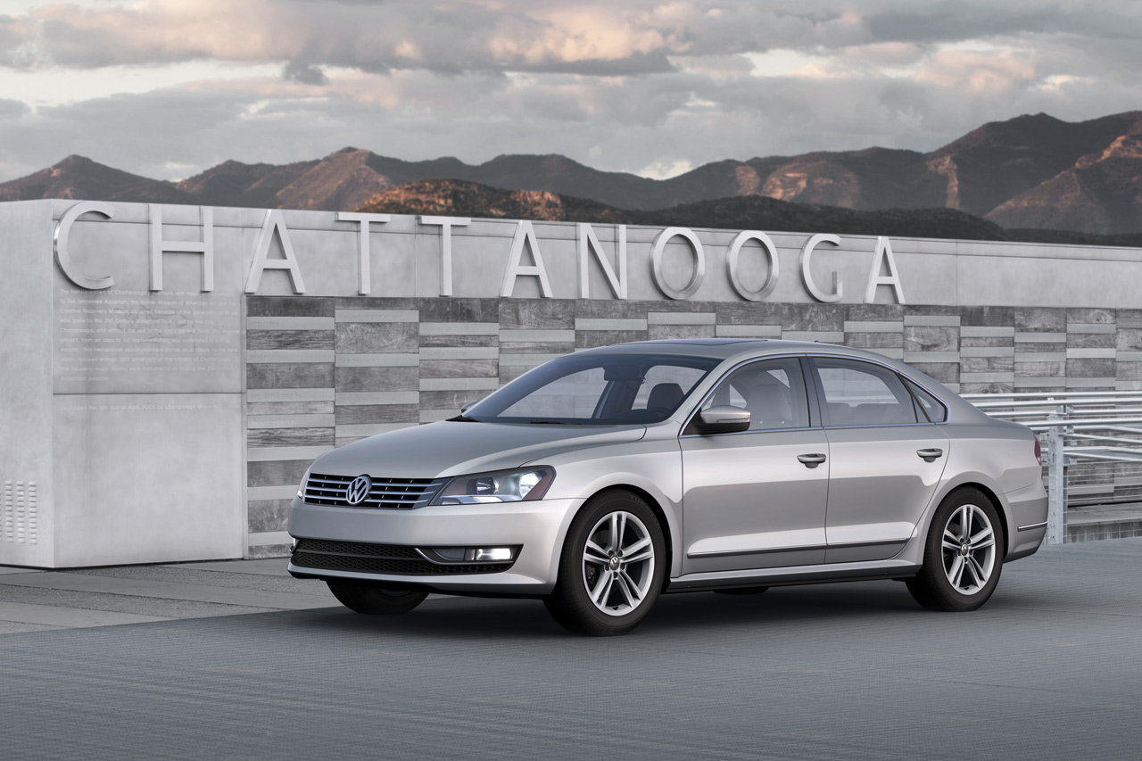 Tuning Rio 2012 Volkswagen Passat At 2011 Detroit Auto Show