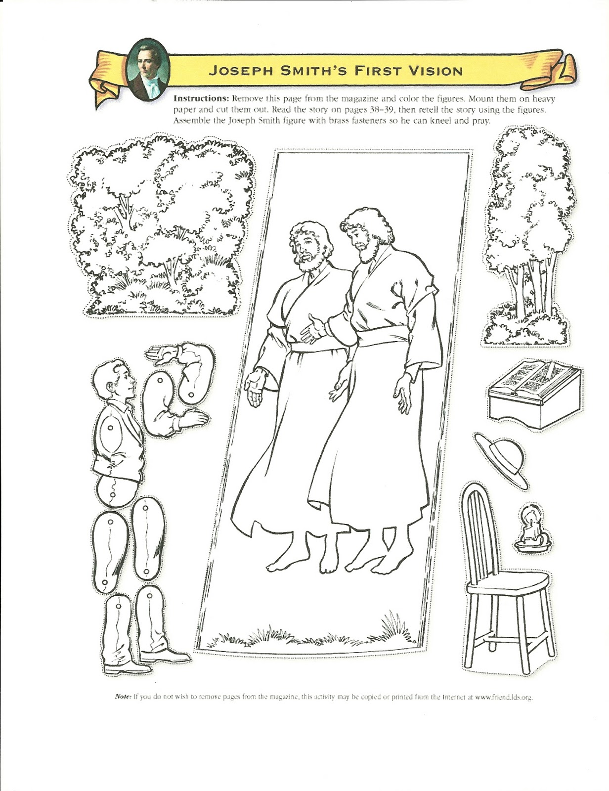 Lds Primary Lesson Coloring Pages Coloringdownload