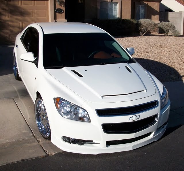 Pimped Cars Chevrolet Malibu With Some Mods