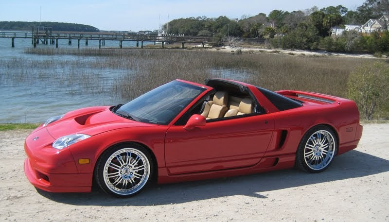 Pimped Cars: Acura NSX 2003 in red