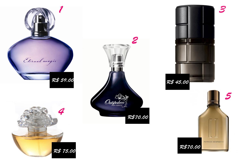 Haja Armário Perfumes Avon