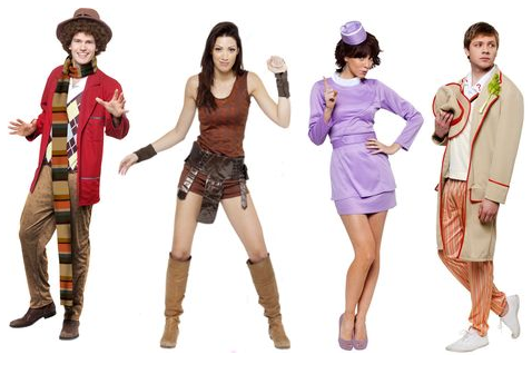 Doctor Who u2013 Fourth Doctor Fifth Doctor Leela and Tegan Outfits  sc 1 st  Blink & Blink: Doctor Who u2013 Fourth Doctor Fifth Doctor Leela and Tegan Outfits