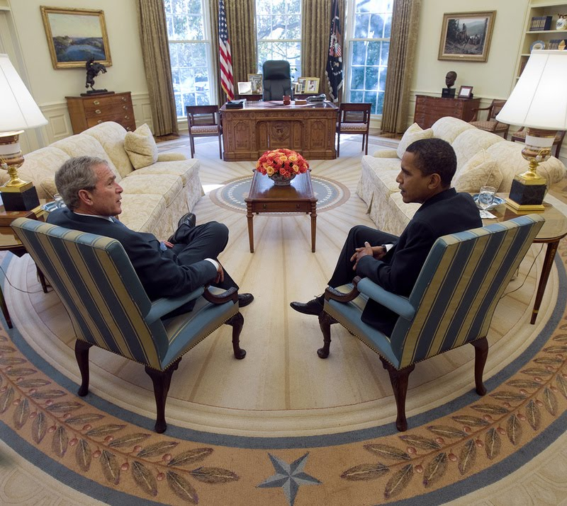 Barrie Briggs Spang: Oval Office Redux