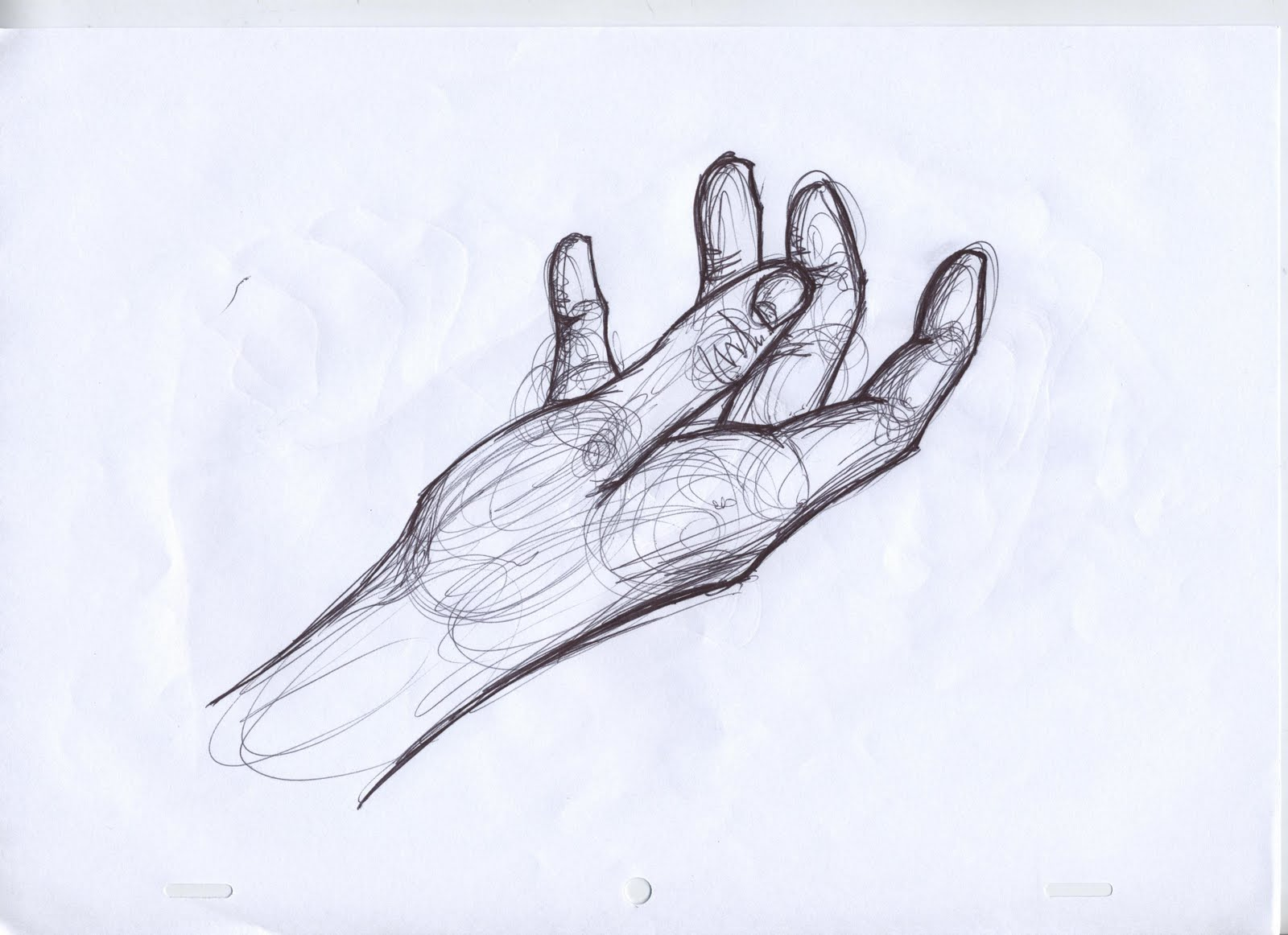 ..Literally...is....Aswell..: ...hands....Grabbing Hand Drawing