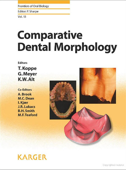 smile4Dr Download Comparative Dental Morphology PDF