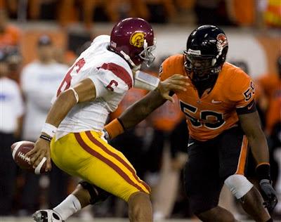 Oregon State beats USC