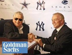 George Steinbrenner and Jerry Jones
