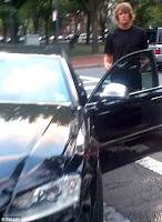 Tom Brady after car accident