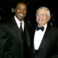 Isiah Thomas and David Stern