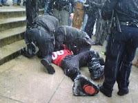 Cincinnatti mascot gets arrested