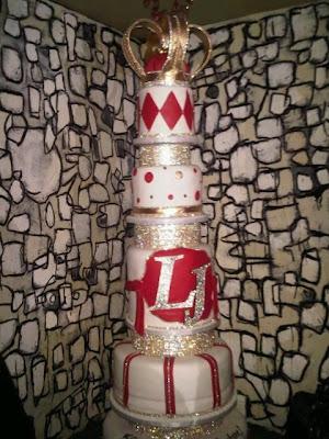 LeBron James' birthday cake