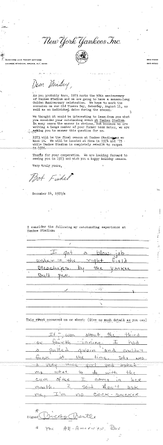 Mickey Mantle's blow-job letter