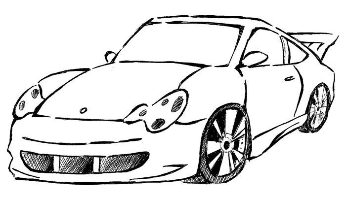Imagenes De Carros Para Colorear: Carro Colorir Desenhos Legais Diversos