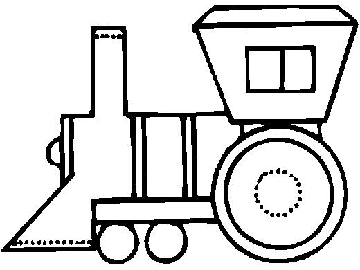 Desenho De Trem Para Colorir Desenho Infantil Para Pintar