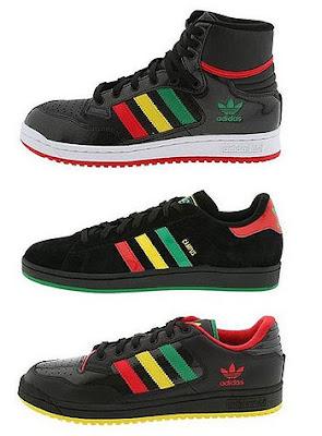 46ebcd425dcb5 Adidas Rasta Pack. adidas rasta reggae shoes. Adidas Jamaica Decade Low
