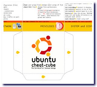 ubuntu cheat-cube