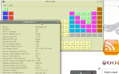 Gperiodic tabla periodica en tu ubuntu ubuntizando no hace mucho hablaba de una herramienta para poder tener mejor gramtica lemurae pero hay mucho ms ubuntu como otras muchas distribuciones urtaz Gallery
