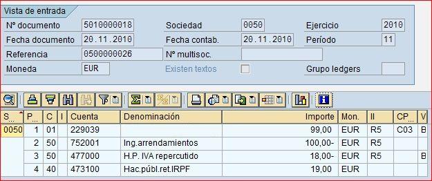 Retención del IRPF ampliada en clientes | Blog de SAP
