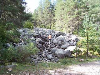 Ruta dels Manairons, Valls dAguilar, Alt Urgell, prop de la planúria de Taüs,