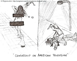 The Progressive Political Cartoon Press: Censorship on