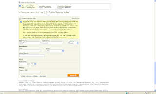 Security Check, US Criminal History Information: Lookup a