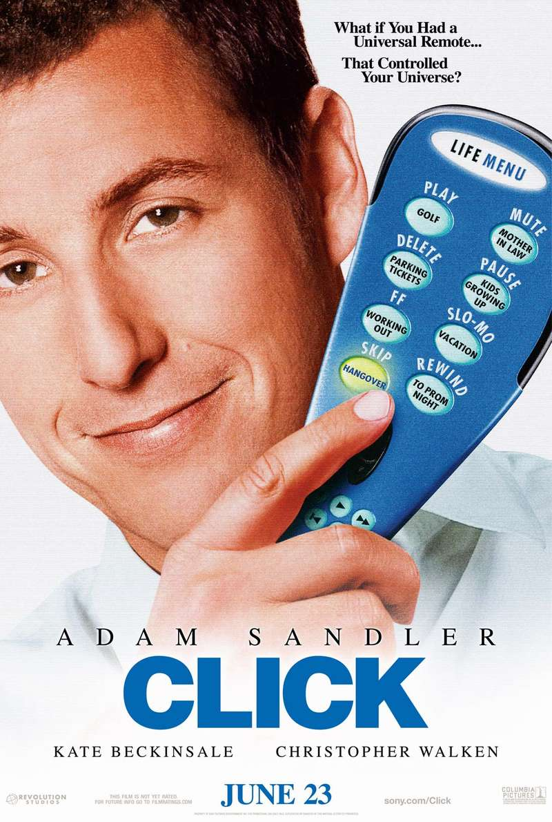 Its Movies time (My IMDB): Click (2006)