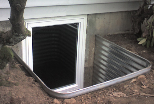 Paul owens real estate sales and design - Basement bedroom egress window requirements ...