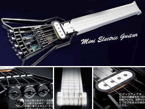 la gakken mini guitar le jouet musical japonais du moment jeux de cordes. Black Bedroom Furniture Sets. Home Design Ideas