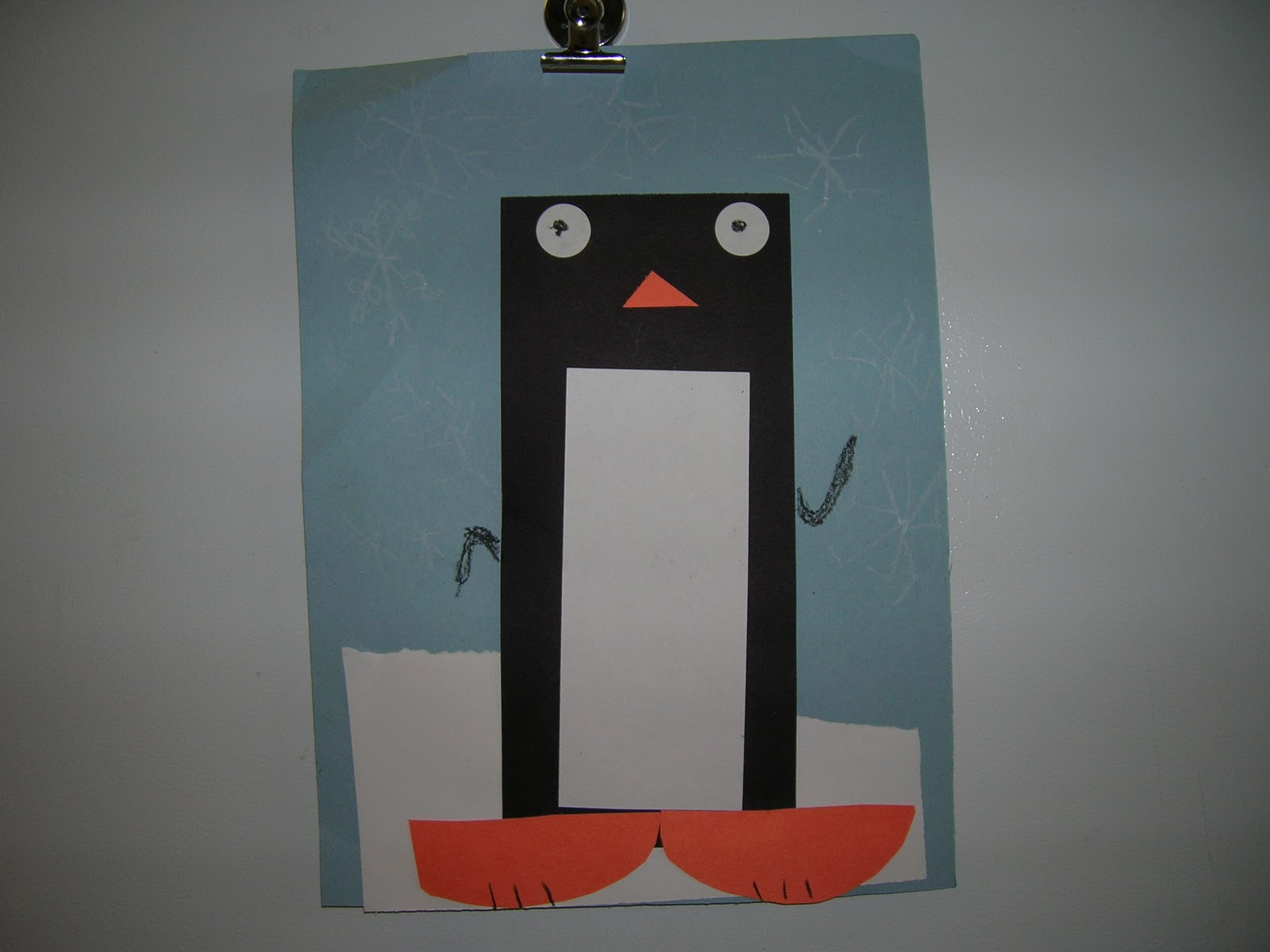 Arts And Crofts Penguin Art With A Little Geometry Snuck In