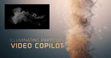 an After Effects Portal: Video Copilot Particular 2 smoke project