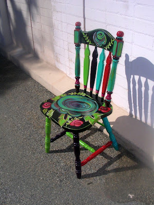 Robin's Nest: New project: PAINTED CHAIRS