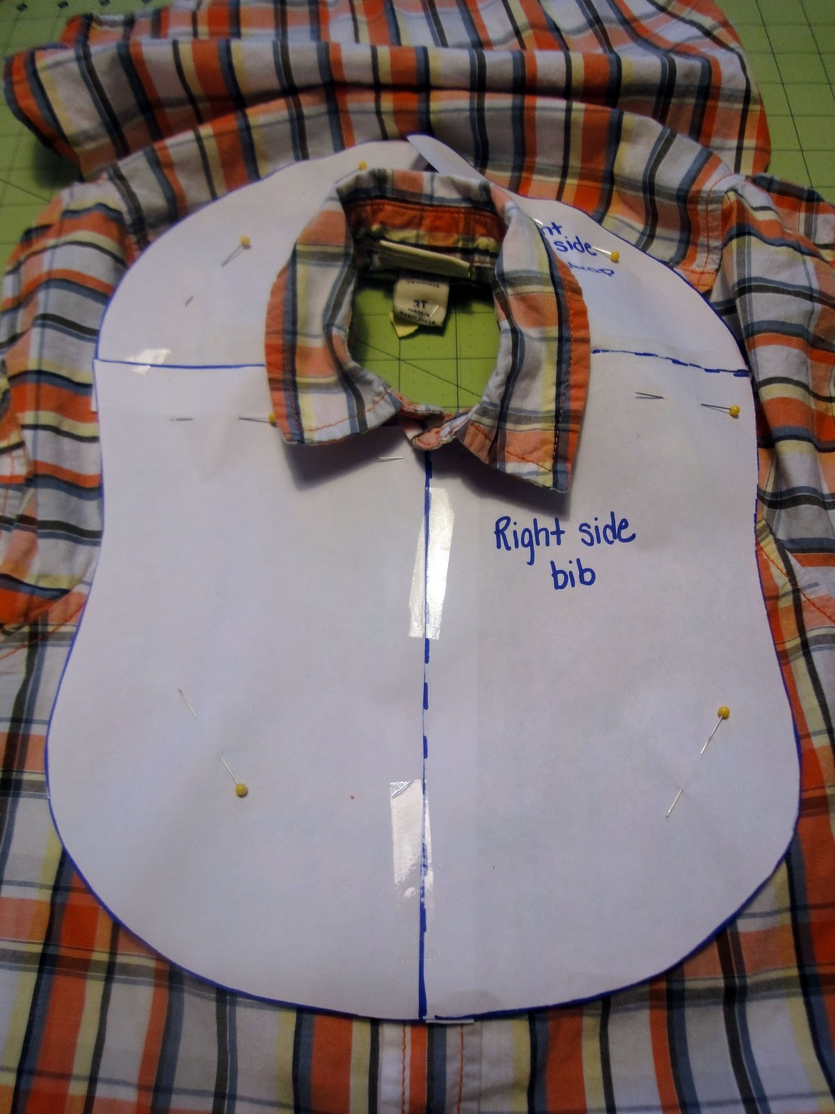 Better Life Blog Upcycled Shirts To Baby Bibs