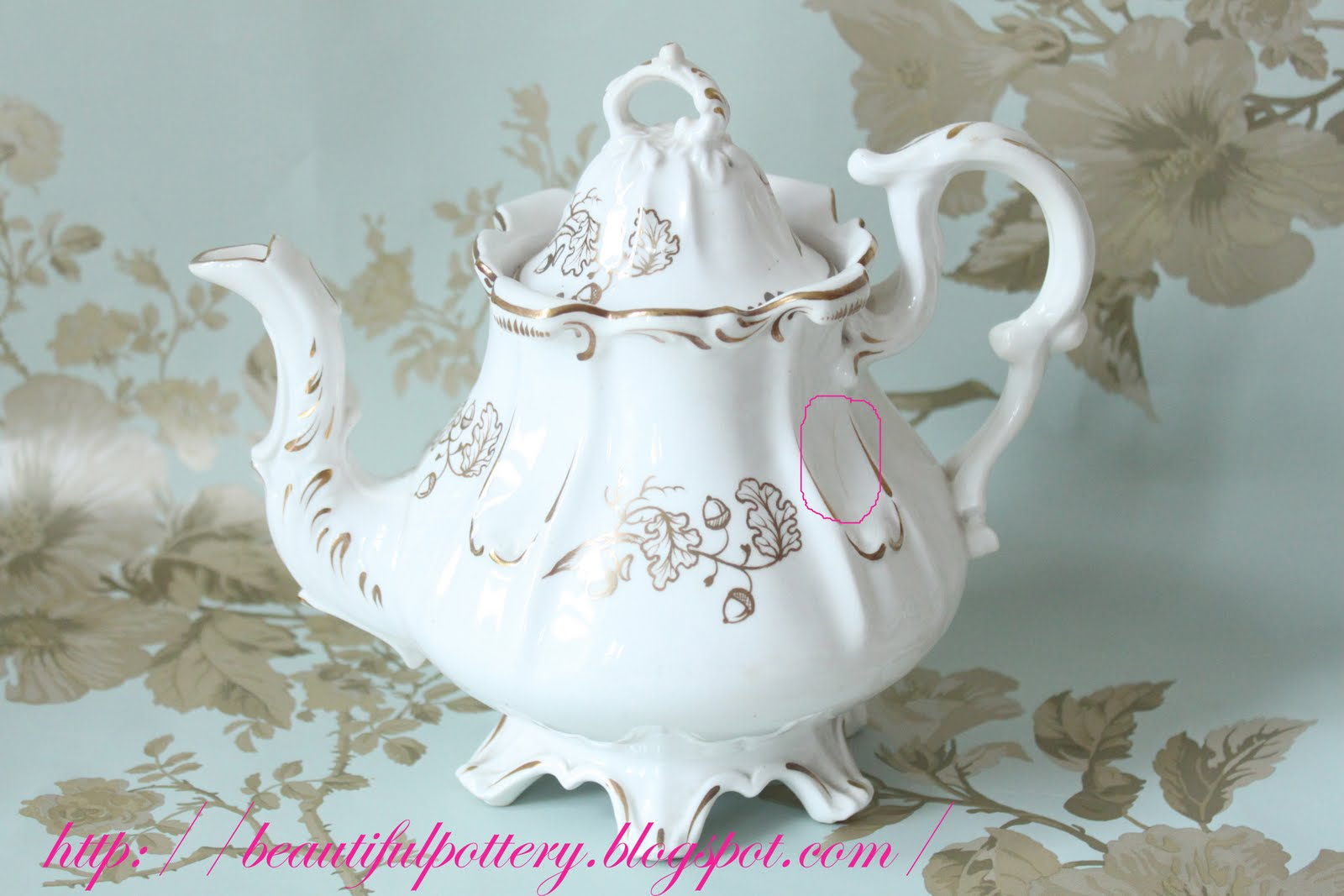 Beautiful Teapot Beautiful Pottery Antique Victorian Teapot