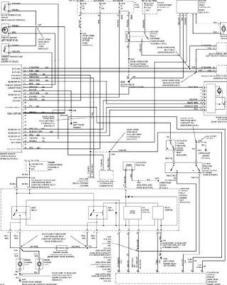 1997 FORD TAURUS WIRING DIAGRAMS Wiring Diagram Service Manual PDF