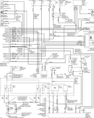 1997 ford taurus radio wiring diagram 1997 ford taurus wiring diagrams ~ wiring diagram user manual 1997 ford taurus starter wiring diagram